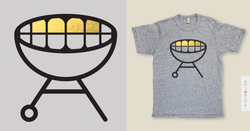 grill by campkatie on Threadless