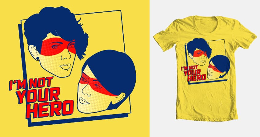 Primary Heroes by curly_fry89 on Threadless
