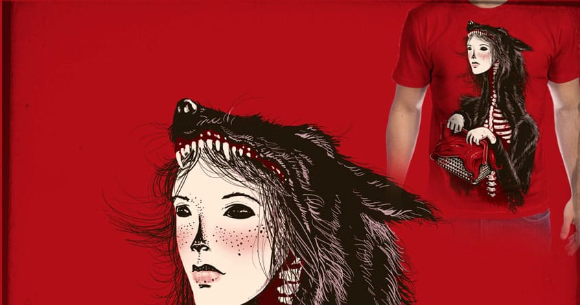 The Red Within by tolagunestro on Threadless