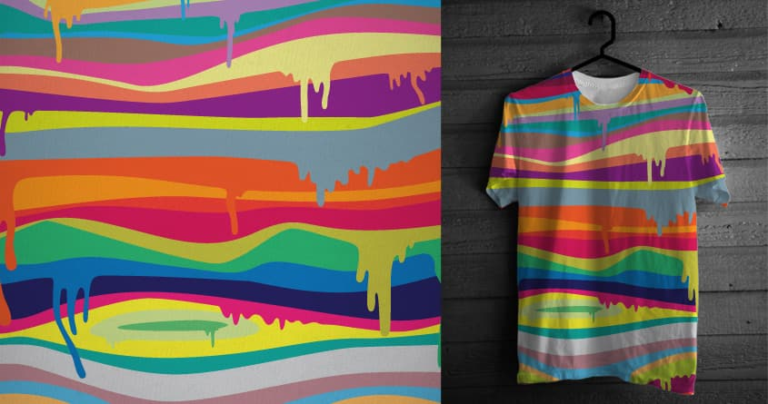 The Melting by speedyjvw on Threadless