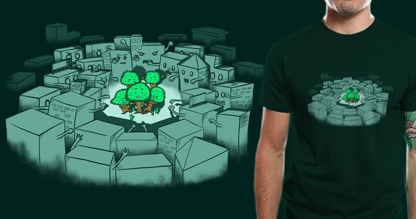 Save The Forest by eQuivalent on Threadless