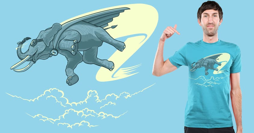 Roaming the Skies by kgullholmen on Threadless