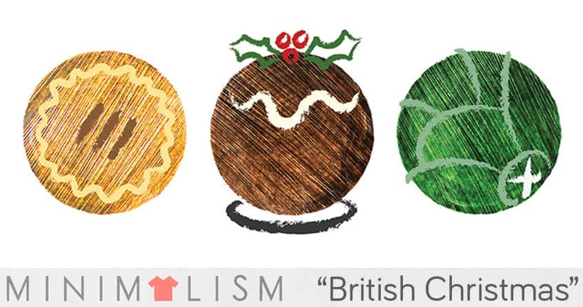 Traditional British Christmas Food by Chayground on Threadless