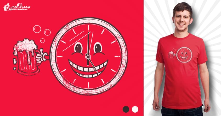 Happy Hour! by Leo Canham on Threadless