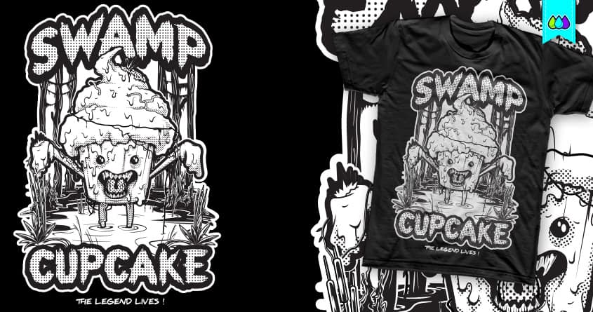 SWAMP CUPCAKE by S-3 on Threadless