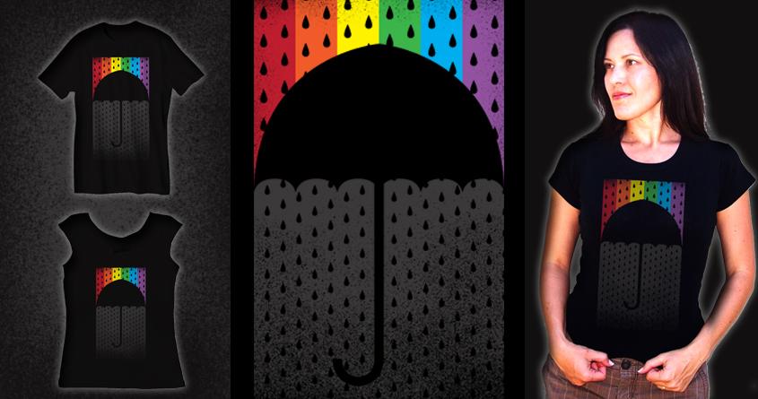 Rainbow by JIMDAHOUSECAT on Threadless