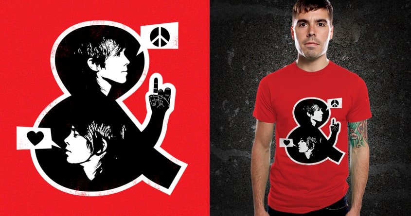 Peace, Love & Equality by kuli_grafis on Threadless