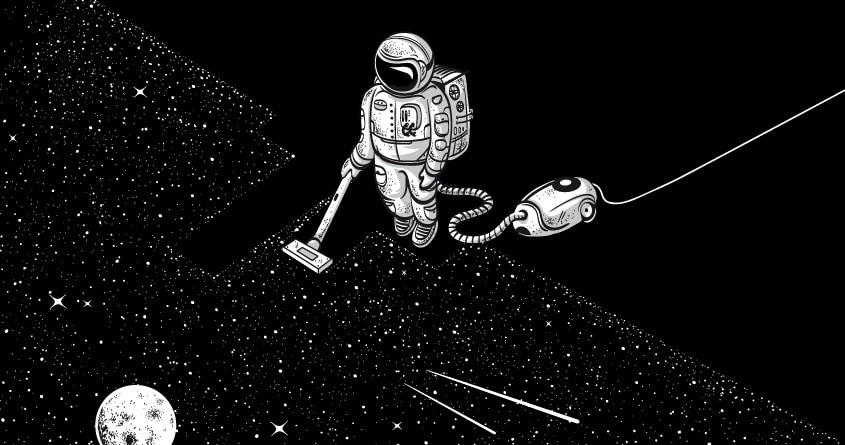 Space Cleaner by Robert_Richter on Threadless