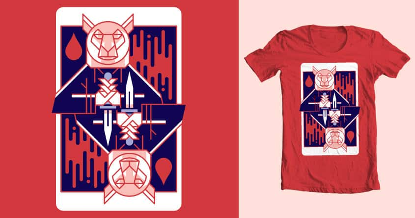Your Death is in the Cards by spencer fruhling on Threadless