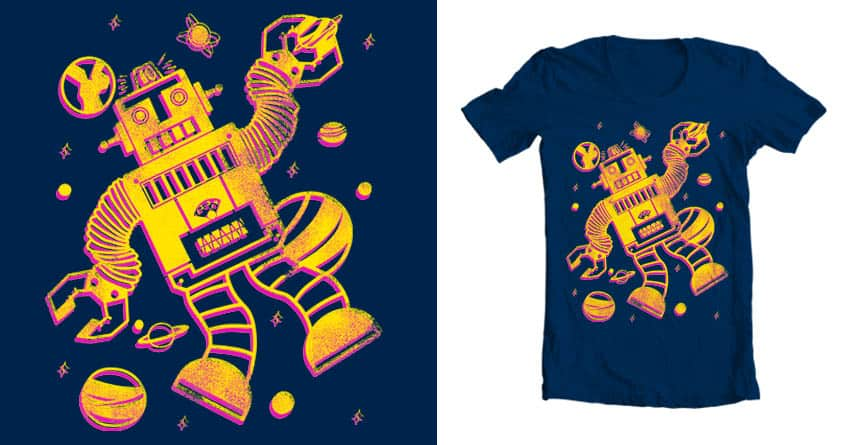 Cosmo Robot by BC_Arts on Threadless