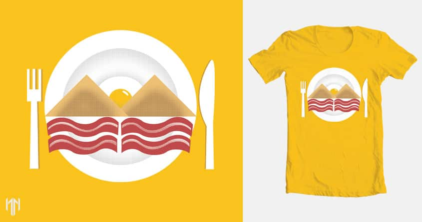 Morning View by normannazar on Threadless
