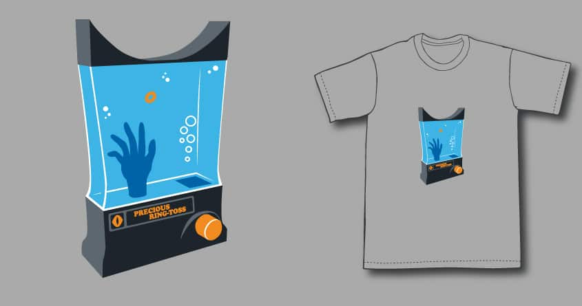 Precious ring-toss by ntesign on Threadless