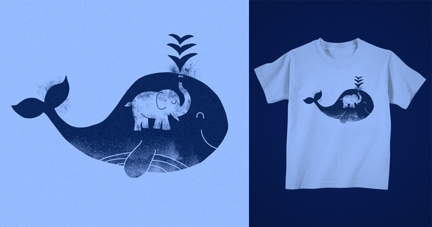 Secret of the Fountain by kooky love on Threadless