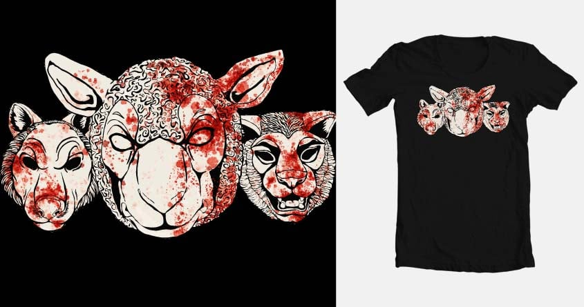 Is That Your Blood? by Kat Phillips on Threadless
