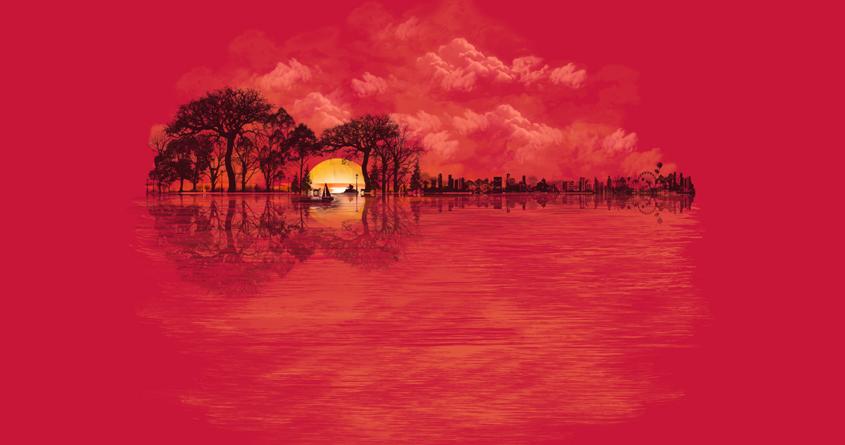 Musical Sunset by dandingeroz on Threadless