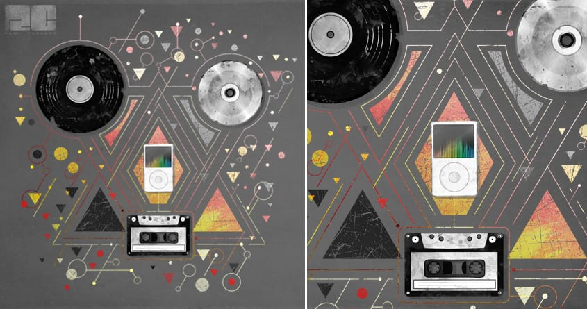 Evolution of Music by ramil21 on Threadless