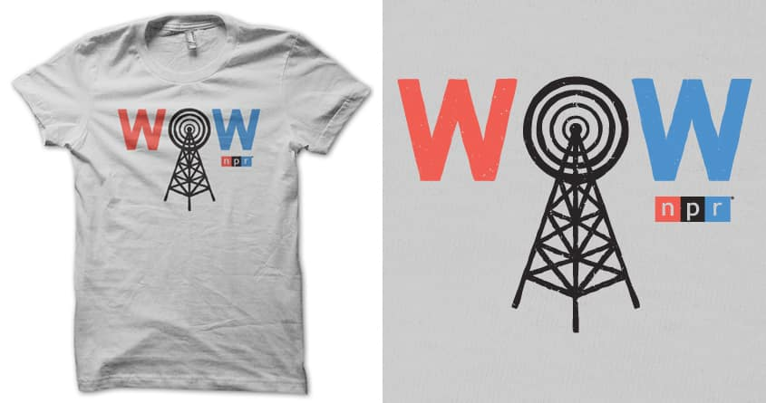WOW by lunchboxbrain on Threadless