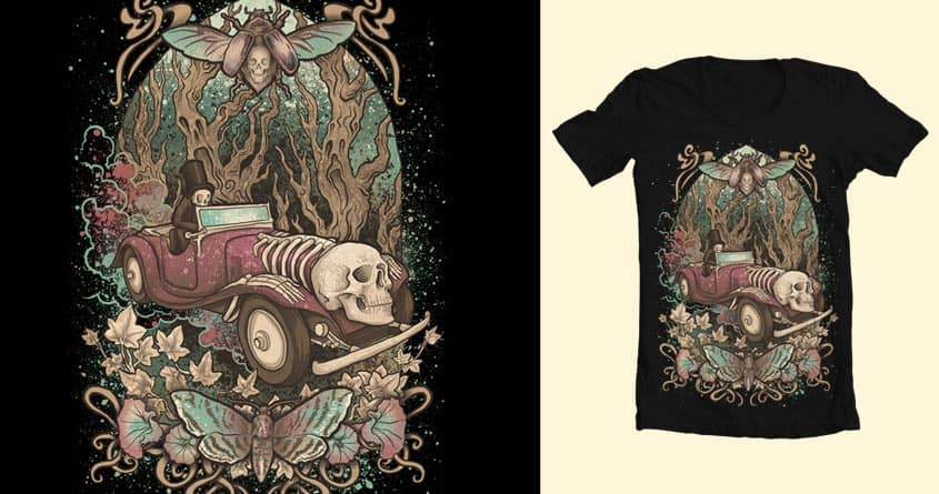 Death ride by David Maclennan on Threadless