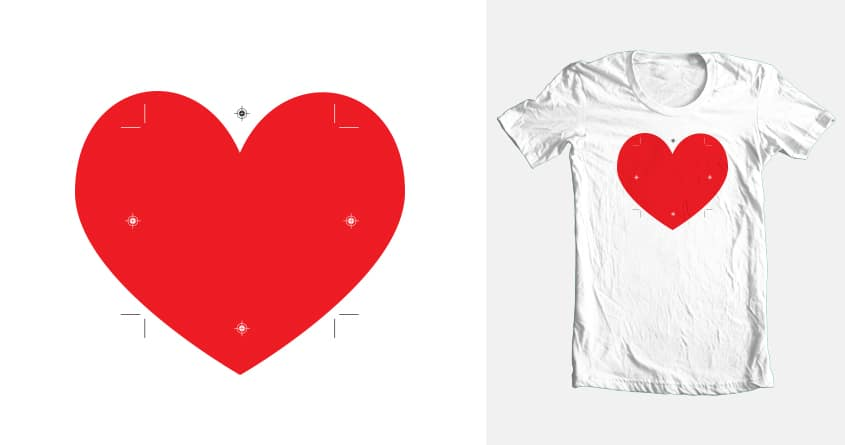 bleeding heart by biernatt on Threadless