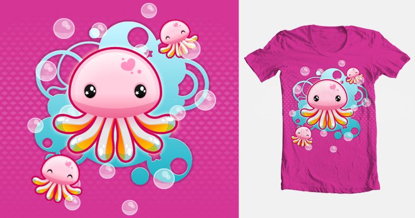 Jellies, to Swim or to Float??? by xxx_sugarandspice_xxx on Threadless