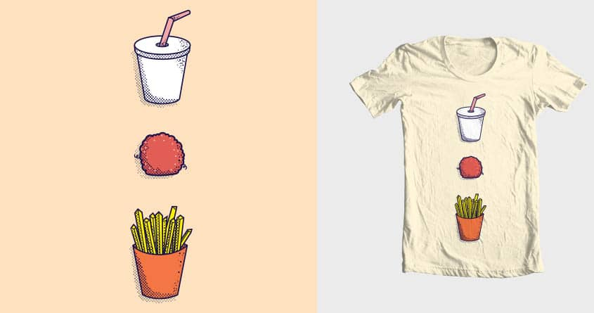 Fast Food With Style by DammDesigns on Threadless