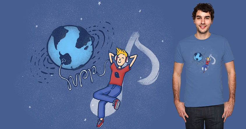 Listen to the World by Wolfgang8885 and celandinestern on Threadless