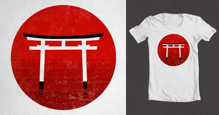 Land of the Rising Sun by Chayground on Threadless