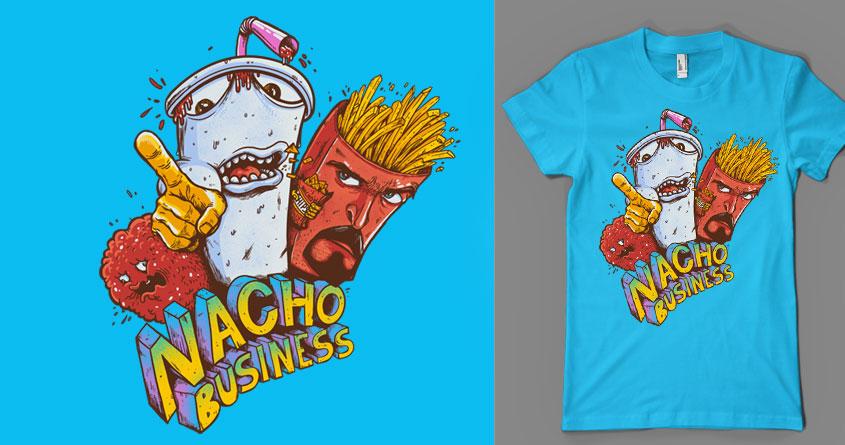 Nacho Chips? by MadKobra on Threadless