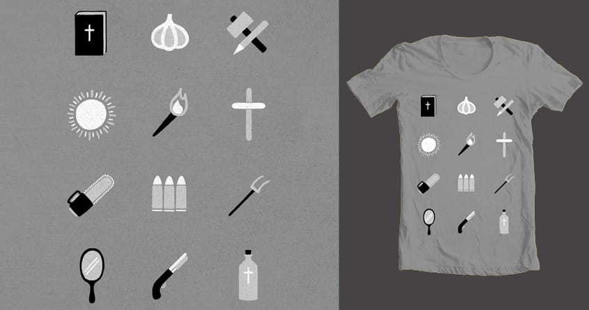 Monster Survival Guide by Chayground on Threadless