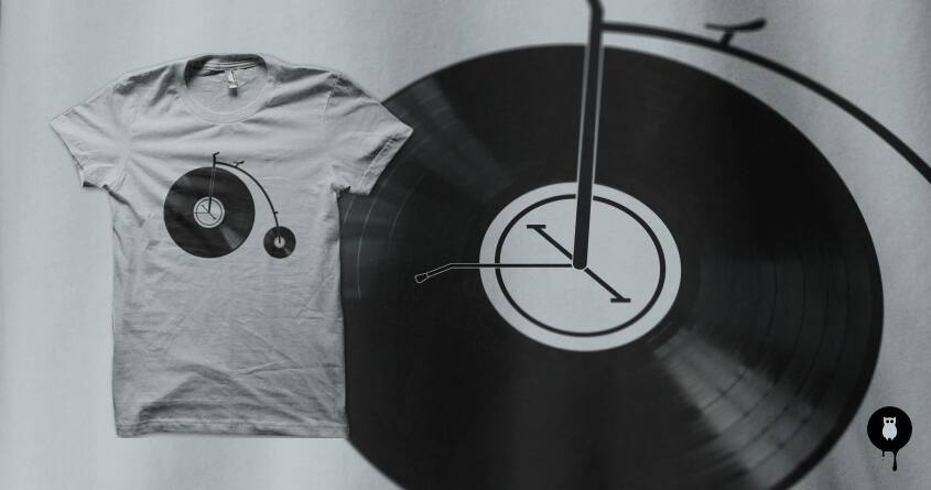 Ride Your Music by filiskun on Threadless