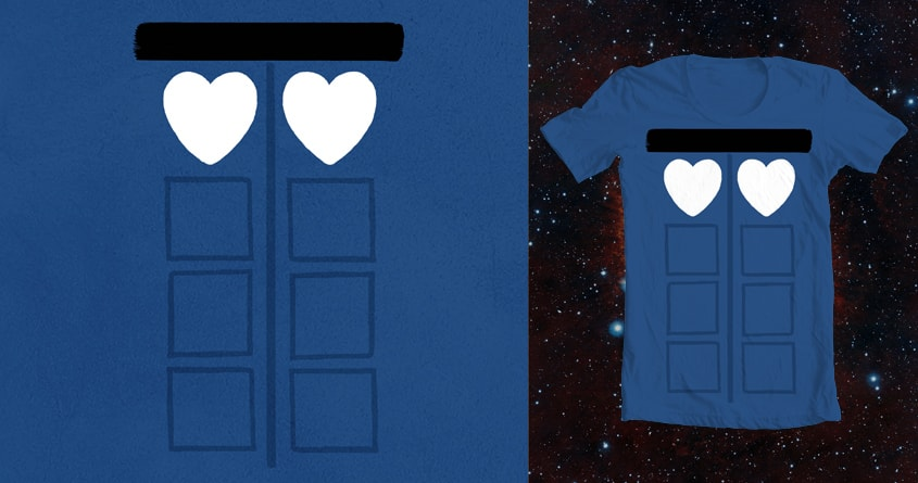 Blue Box. Two Hearts. by Chayground on Threadless