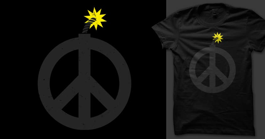 Peace is up to us by 3rick05 on Threadless