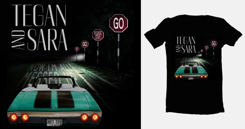 Go, Please Stay by streexdesigns on Threadless