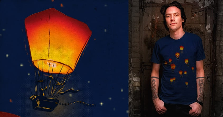 Night Flight by kooky love on Threadless