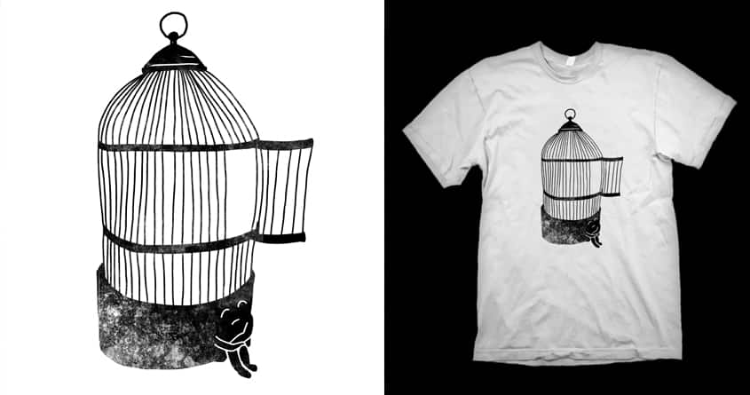 Freedom is lonely by kooky love on Threadless