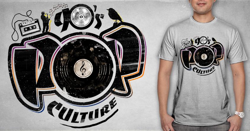 90's POP Culture by ramil21 on Threadless
