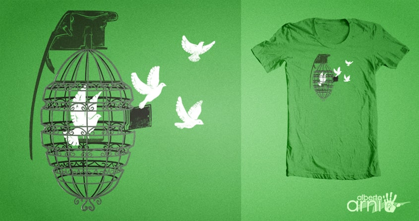 Peace II by albertoarni on Threadless