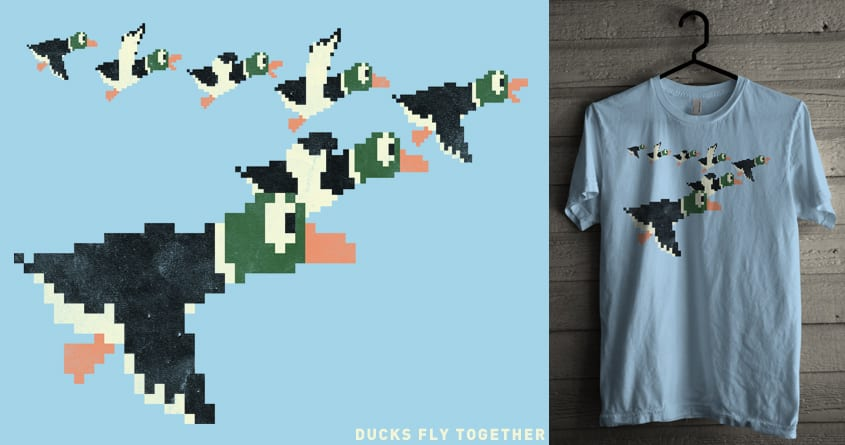 Ducks Fly Together by arzie13 on Threadless