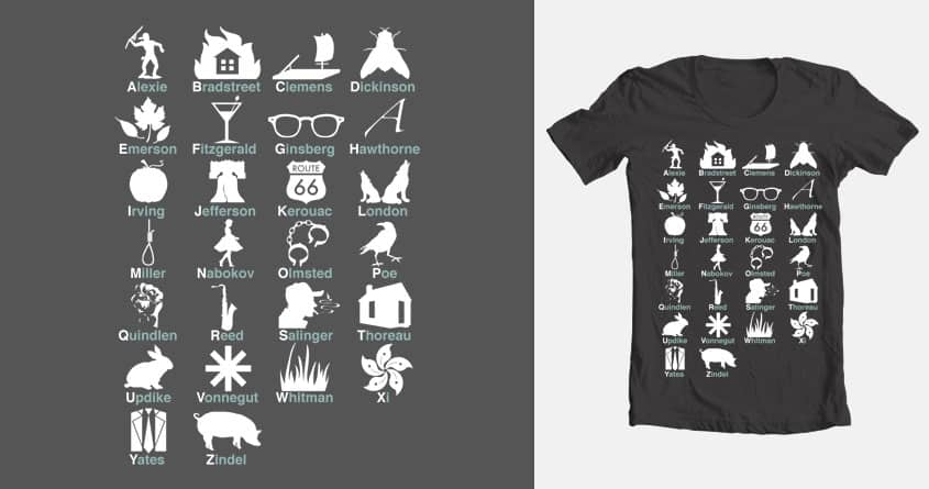 ABC's of Literature by boknoblauch on Threadless