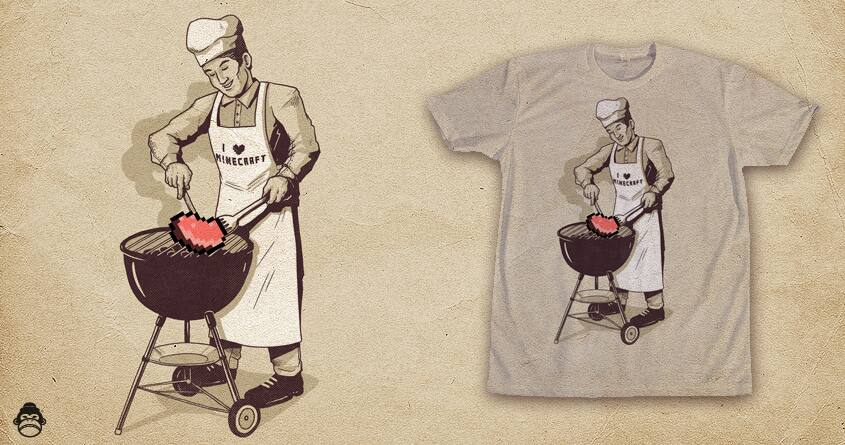 Grilling Out by alexmdc on Threadless