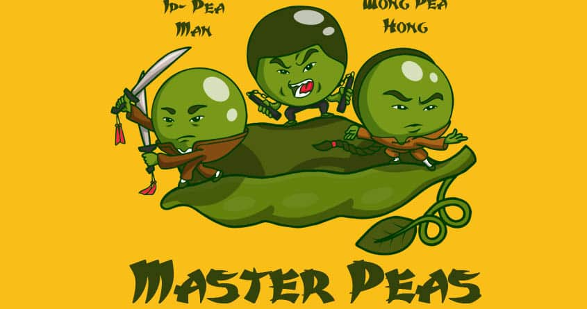 Master Peas by paul nicool on Threadless