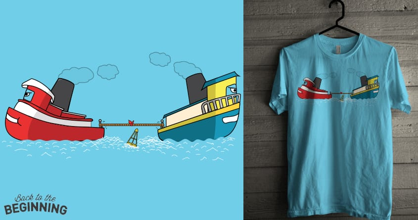 Tug Boat Of War by Theo86 on Threadless