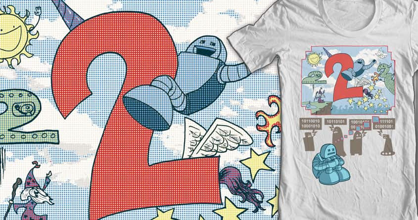 Robot Fantasy! by robbielee on Threadless