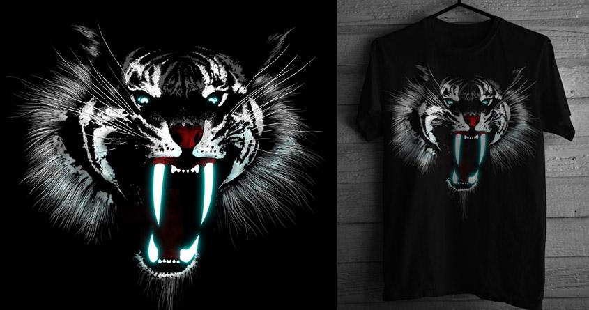 LIGHTSABERTOOTH TIGER by alfboc on Threadless