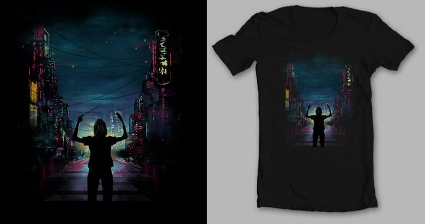 Sounds of the city by mip1980 and dandingeroz on Threadless