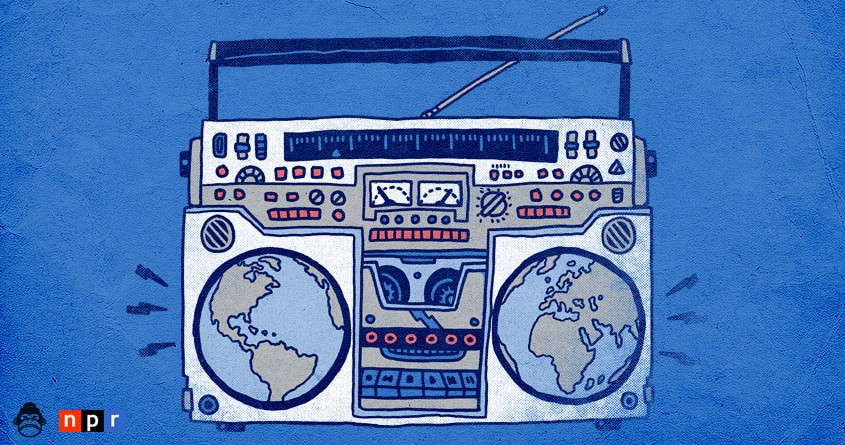 The world is listening. by alexmdc on Threadless