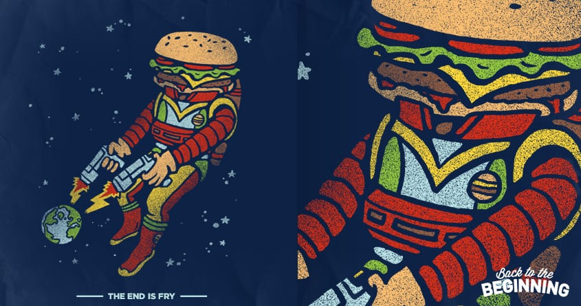 The End is Fry by WanderingBert on Threadless