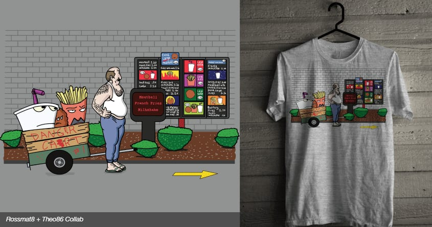 Fast Food by Theo86 and rossmat8 on Threadless