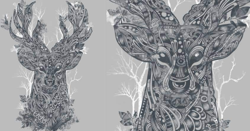 Nature Imprints by pauloexmachina and dandingeroz on Threadless