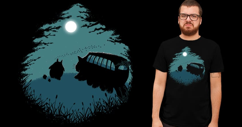 Walking Home by Doodle by Ninja! on Threadless